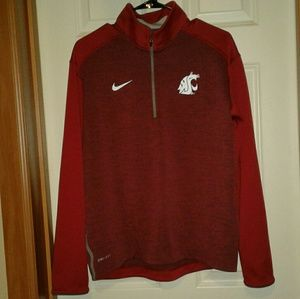 Nike WSU Cougars cougs medium dri-fit sweatshirt